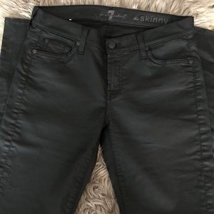 7 for all Mankind black The Skinny Jean 30